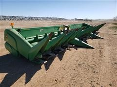 2009 John Deere 612C 12R30 Corn Header W/Lindquist Adapter