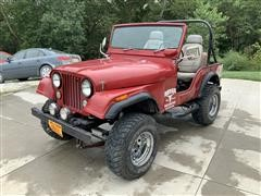 1972 Jeep CJ5 4x4 SUV