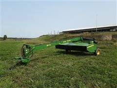 2013 John Deere 956 MoCo Disc Mower W/impeller Conditioner