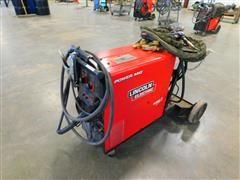 Lincoln Electric 255x7 Power MIG Wire Feed Welder W/Aluminum Spool & Gun