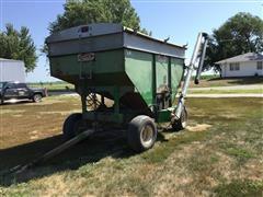 Dakon 250 Gravity Wagon Seed Tender W/Auger & Tarp