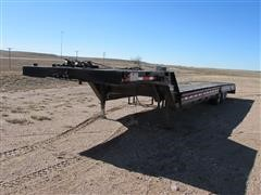 1983 Muv-All 4244T T/A Machinery Trailer