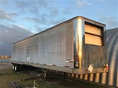 1986 Great Dane 48' T/A Enclosed Reefer Trailer