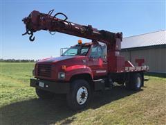 1998 GMC C7500 Digger Derrick Truck