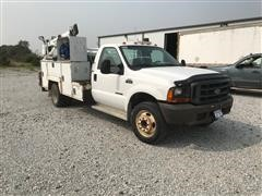 1999 Ford F550 Super Duty 2WD Service Truck