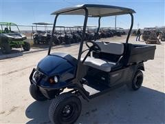 2018 Cushman Hauler 1200 Blue High Output Off-Highway Vehicle