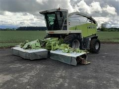 2007 CLAAS Jaguar 900 Chopper W/Rotary Swather