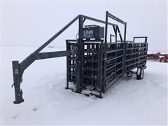 Linn Gooseneck Hyd Lift Portable Folding Cattle Corral