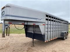 1999 Travalong 20' T/A Livestock Trailer