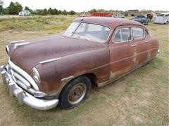 1951 Hudson 4A Pacemaker 4 Door Sedan