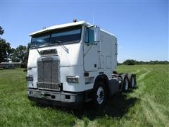 1991 Freightliner FLA86 T/A Cabover Truck Tractor W/Sleeper