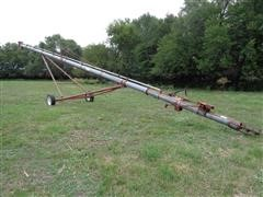 "Peck 802-56 56' X 8"" Portable Grain Auger"