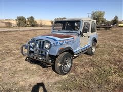 1981 American Motors Jeep CJ-7 4WD Renegade