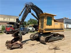 1987 Caterpillar 215B SA Feller Buncher