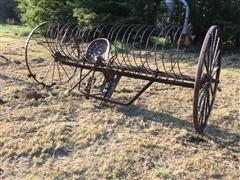Horse-Drawn Dump Rake