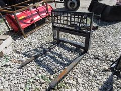 2017 Pallet Forks Skid Steer Attachment