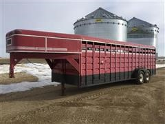 1993 Travalong T/A Livestock Trailer