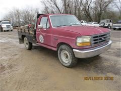 1992 Ford F250 2WD Flatbed Pickup