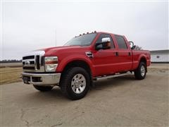 2008 Ford F250 Super Duty Lariat 4DR Crew Cab 4x4 Pickup