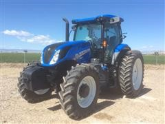 2016 New Holland T6 .175 MFWD Tractor