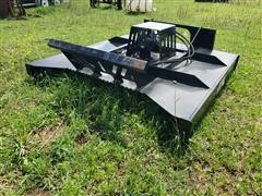 2020 Hawz 6' Wide Rotary Cutter Skid Steer Attachment
