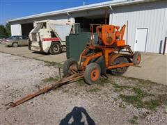 Rosco B8 Self Contained Tow Behind Broom/Sweeper
