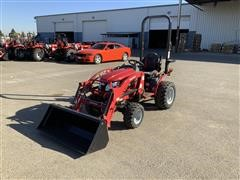 2018 Mahindra EMax 22L MFWD Compact Utility Tractor W/Loader