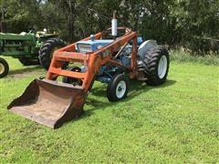 Ford 5000 2WD Tractor W/DU-Al Loader