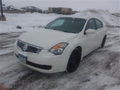 2008 Nissan Altima 4 Dr Car