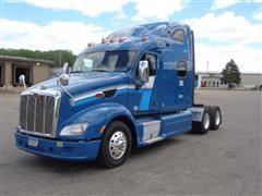 2012 Peterbilt 587 T/A Truck Tractor