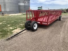Industrias America 82R Portable Feed/Hay Wagon