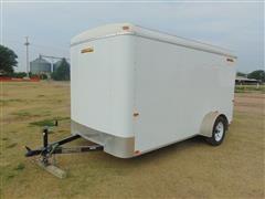 2009 Doolittle Cargo Master 6x12 Enclosed Trailer