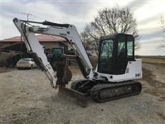 2000 Bobcat 341 Mini Excavator