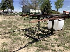 Shop Built Boom Sprayer Skid