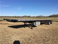 2017 Dorsey FC53 Combo Giant Flatbed Trailer