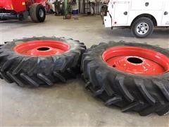 Michelin 520/85 R46 Mounted Fendt Duals