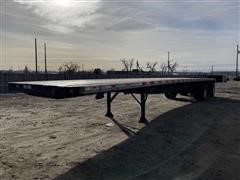 2000 Great Dane T/A Flatbed Trailer