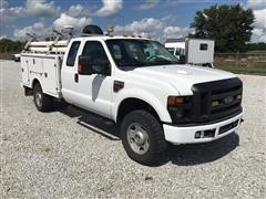 2008 Ford F350XL Super Duty 4X4 Service Truck