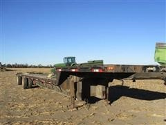 1991 Oshkosh Flatbed Spread Axle Trailer