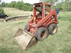 1976 New Holland L225 Skid Steer & Bucket