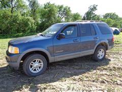 2002 Ford Explorer XLT 4WD Sport Utility Vehicle