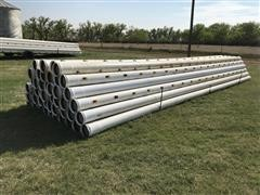 "PVC 8"" Irrigation Pipe"