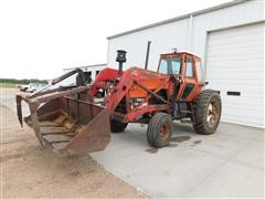 Allis-Chalmers 7045 2WD Tractor W/Loader
