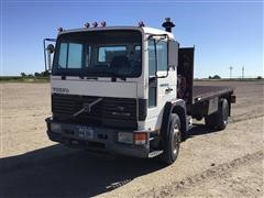 1992 Volvo FE42 Flatbed Truck