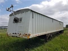 1998 Jet 42' T/A Grain Trailer W/Dual Hopper