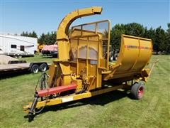 2013 Haybuster 2564 Bale Processor W/Top Discharge