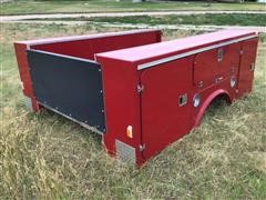 Fibre Body Utility Truck Bed