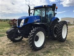 2014 New Holland T7.260 MFWD Tractor