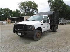 2002 Ford F-450 Dump Truck
