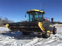 2008 New Holland H8040 Self Propelled Windrower